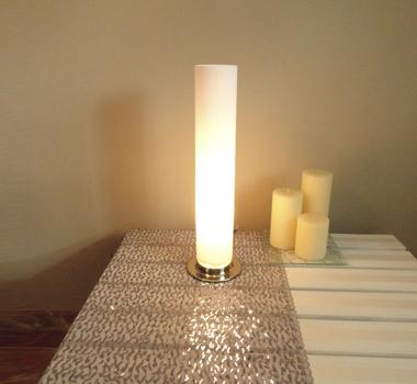Lámpara de mesa tubo