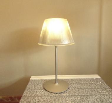 Lámpara de mesa cristal