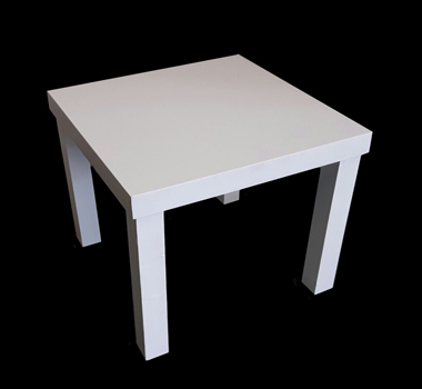 Mesa Baja Mini blanca