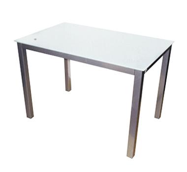 Mesa rectangular cristal
