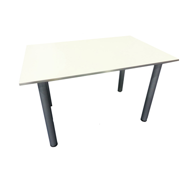 Mesa melamina blanca