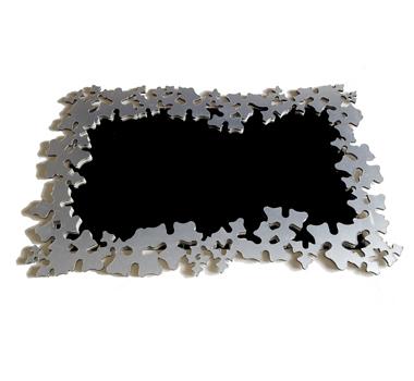 Espejo marco aluminio