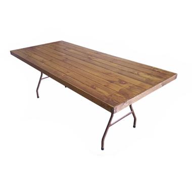 Mesa madera plegable 90