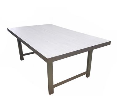 Mesa madera blanca