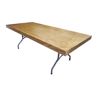 Mesa madera plegable 100 CEIBO